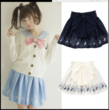 1 pcs Etek Yeni Lolita Cosplay Sailor Moon Etekler Kawaii Sailor Kız Etekler sailor moon Etek