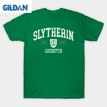 Harry t gömlek Slytherin Quidditch T-Shirt potter gömlek