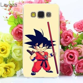 Lavaza 30af japon anime Dragon Ball Z Hard Case için Samsung Galaxy A3 A5 2017 2016 A8 artı 2018 not 8 9